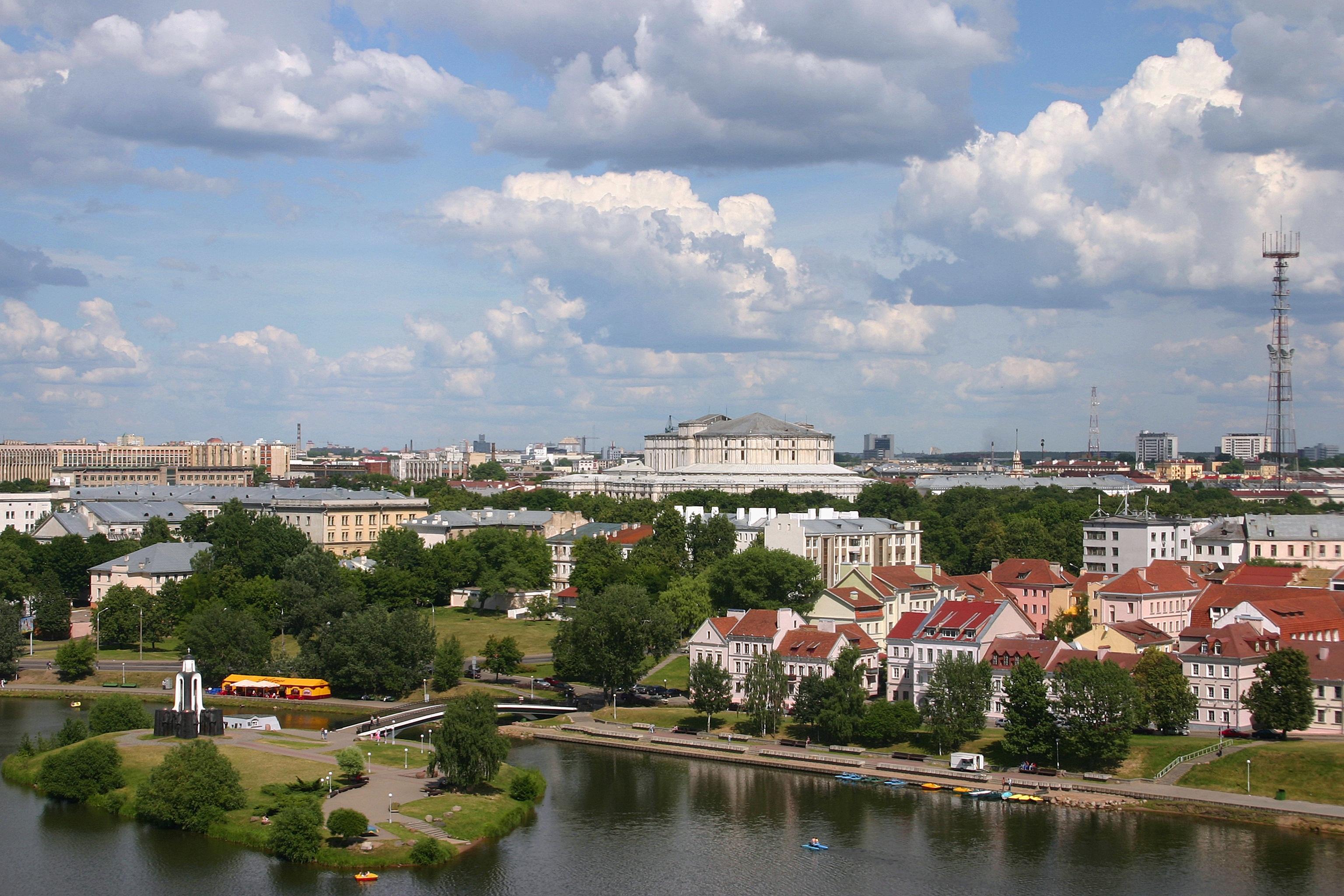 Žaliuojančio miesto panorama. (Scanpix nuotr.)