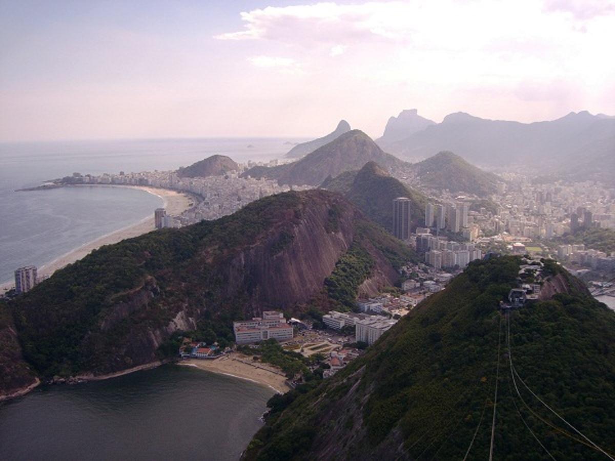 Rio de Žaneiro panorama nuo Cukraus kalvos. (Asmeninio albumo nuotr.)